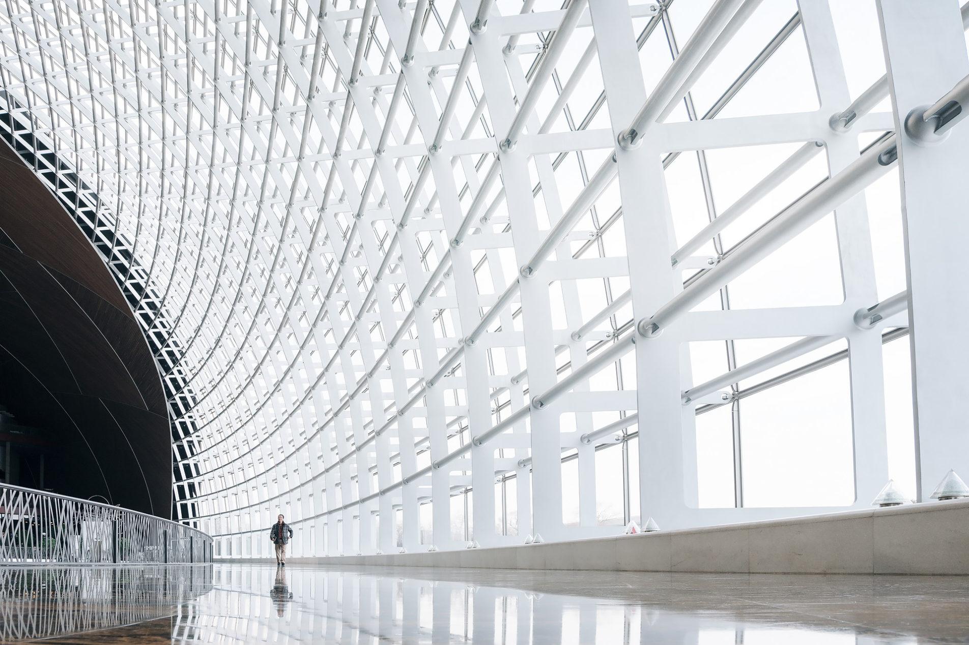 Zentrum für Darstellende Künste von Paul Andreu in Beijing