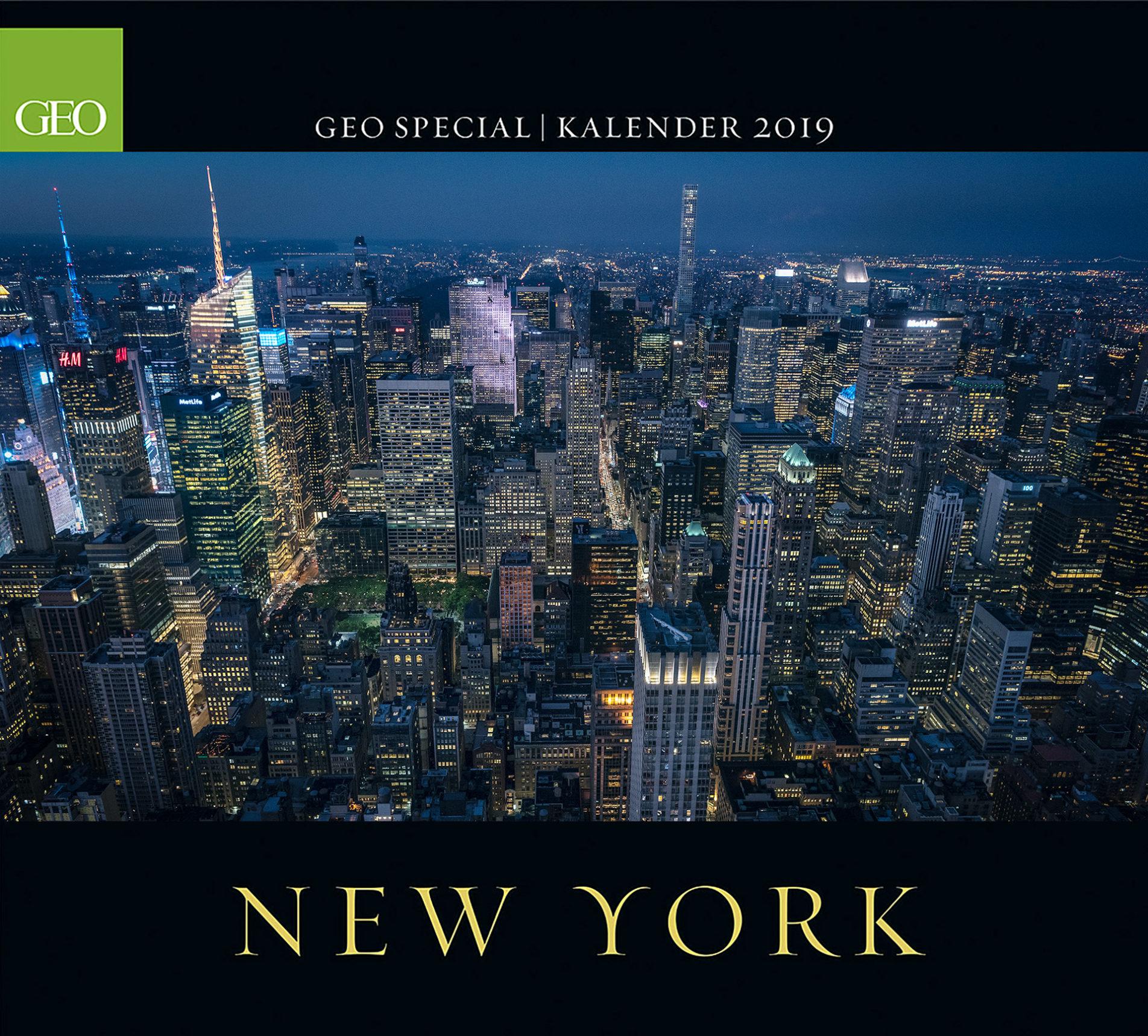 GEO Special – New York Kalender