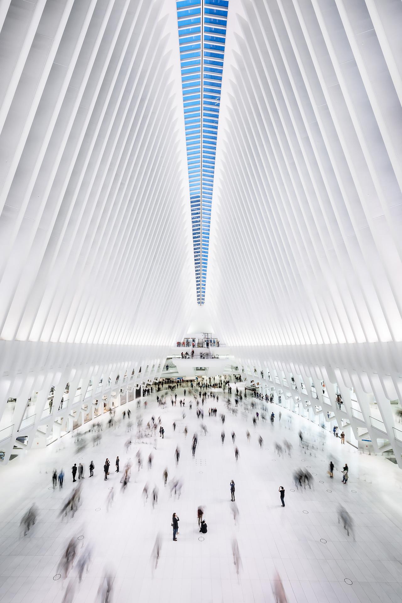 The Oculus in New York von Santiago Calatrava