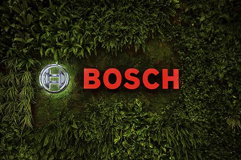 Messeauftritt der Firma BOSCH auf der IAA mobility in München 2021